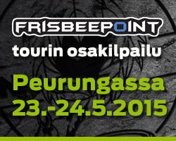 Frisbeepoint-tour Peurunka
