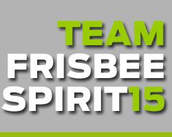Team frisbee spirit